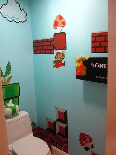 Un bagno o un videogame ??