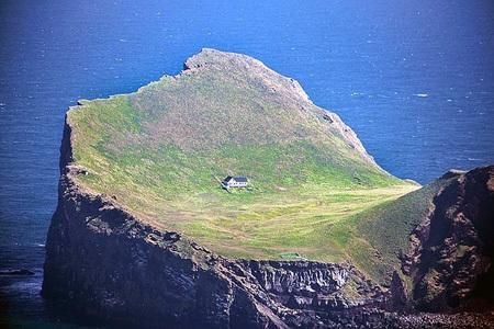 Una casa che ha come giardino un'intera isola!!