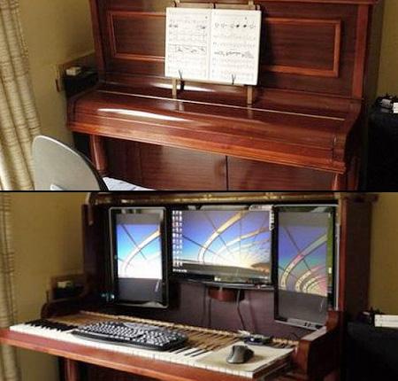 I PC piu' strani del mondo! Pianoforte o computer!?