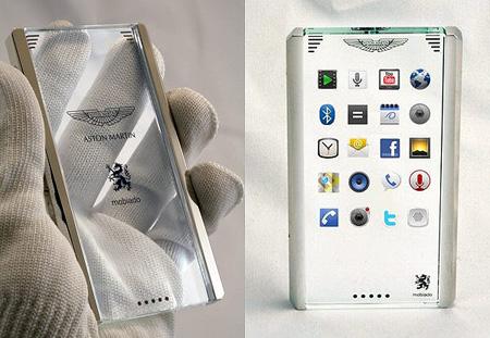 Un cellulare tutto trasparente !!