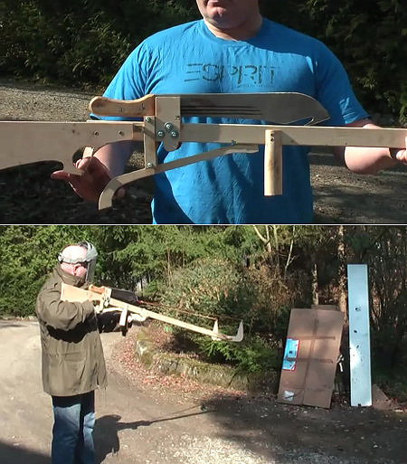 Armi fai da te davvero originali !!