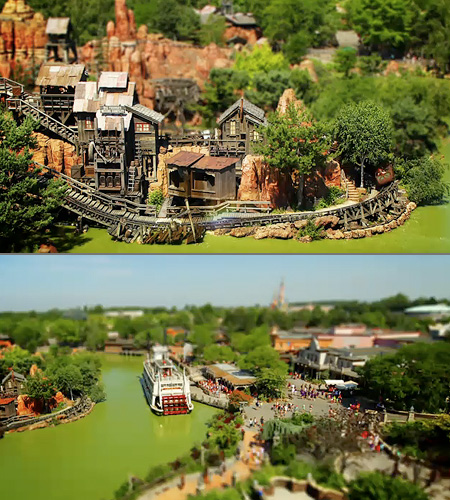 Disneyland Paris in miniatura