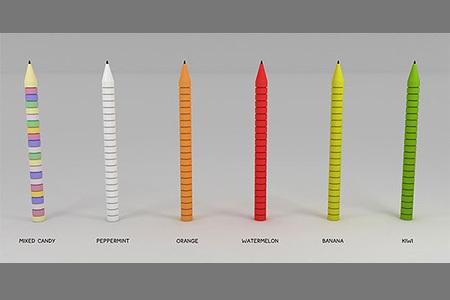 La penna che si può mangiare e masticare !!!