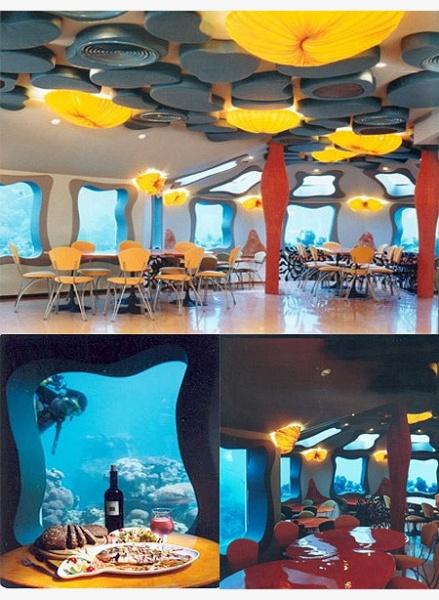 L'hotel sotto il livello del mare