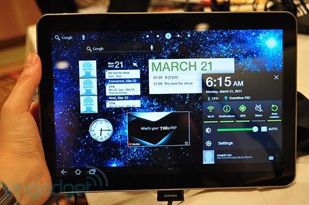 Il Galaxy Tab 8,9 della Samsung