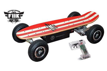 Fiik : lo skateboard elettrico