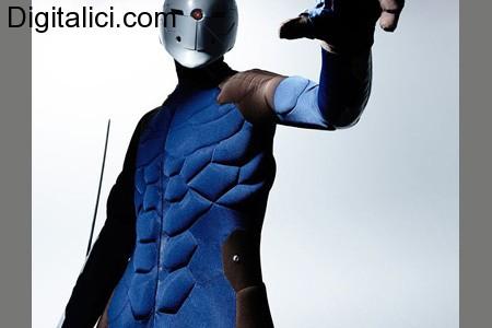 Incredibile costume di Gray Fox da Metal Gear