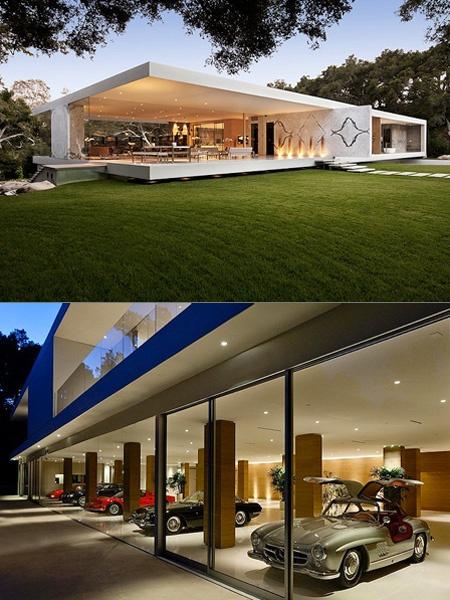 La prima casa – museo interamente in vetro !!