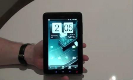 Il nuovo tablet dell' HTC