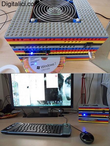 Il primo PC LEGO funzionante !!!