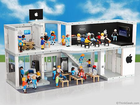 Playmobil presenta Apple !!