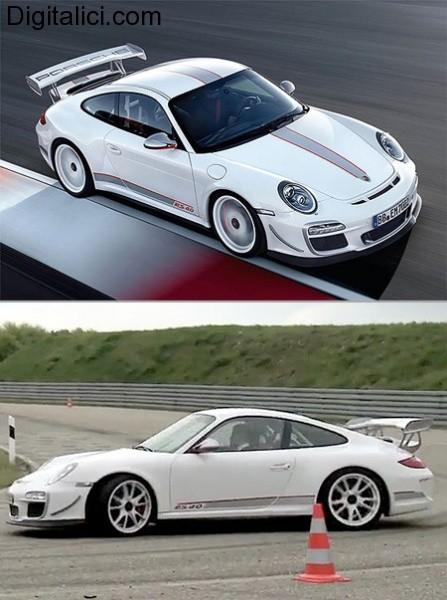 Porsche 911 GT3 RS 4.0 : un gioiellino da soli 600 esemplari !!!