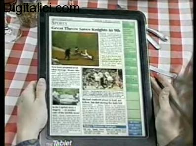 Il primo tablet della storia venne ideato nel 1994 !!!
