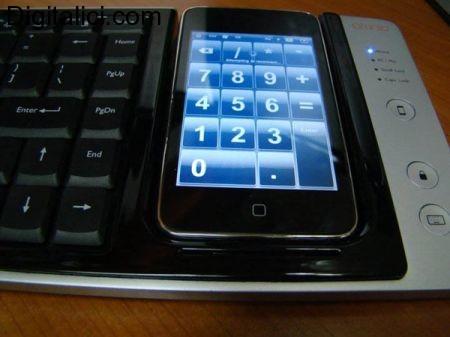 Gli accessori per iPhone : tastiera WoW-Keys integrante