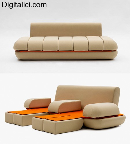 """Il primo divano """" touch """" !!!!"""