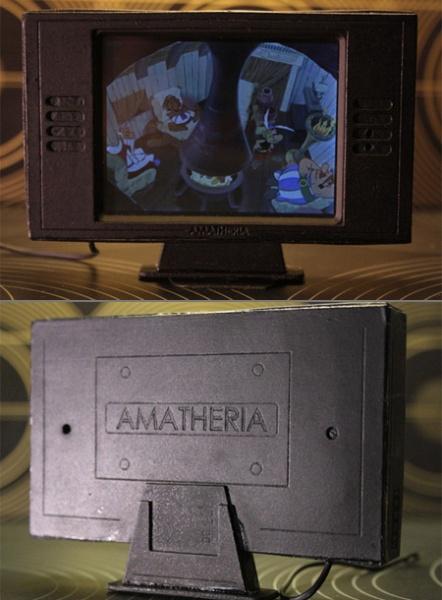 La tv più piccola del mondo !!!