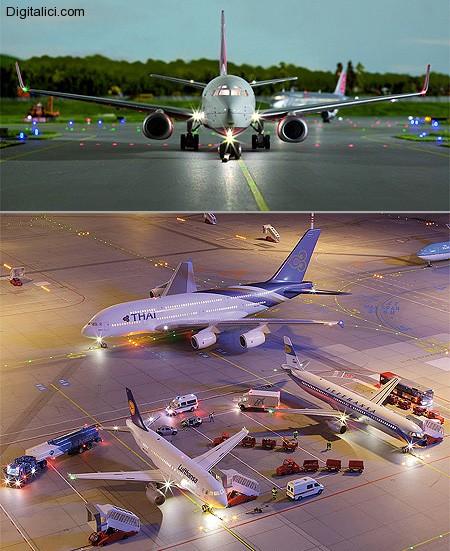 L'aereoporto piu' piccolo del mondo !!!