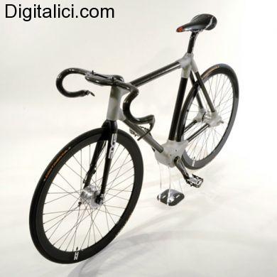 Alpha, la prima bicicletta elettrica senza catena