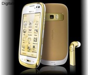 Un Nokia tutto laccato in oro !!