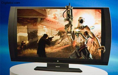 Sony presenta la Tv 3D marchiata Playstation