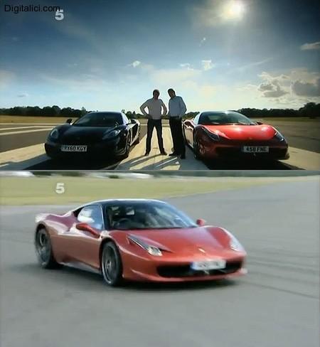 Fifth Gear: McLaren MP4-12C vs. Ferrari 458 Italia
