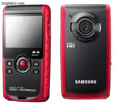 Samsung W200, la nuova fotocamera subacquea