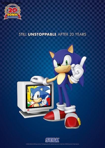 Sonic festeggia il suo ventesimo anniversario!