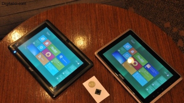 I primi tablet con Windows 8