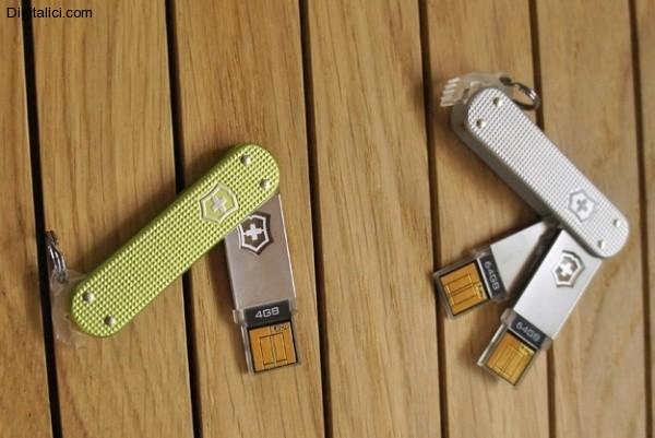 Victorinox presenta i coltellini svizzeri USB