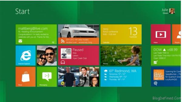 Download Windows 8 Versione Consumer disponibile