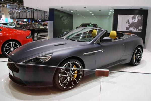 Al Salone di Ginevra l'Aston Martin personalizzabile