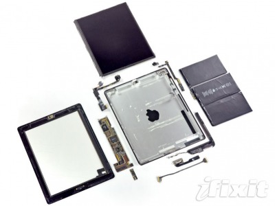 Disassemblaggio Ipad3 ecco il video