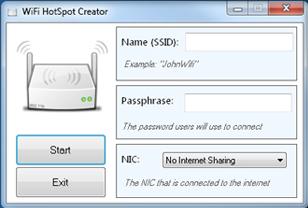 Il PC diventa un Router WIFI con HotSpot Creator