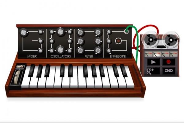 Doodle Google: Robert Moog