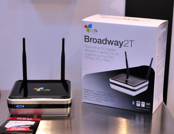 Broadway2T: la TV su iPad e iPhone