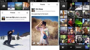 Facebook e Instagram: Facebook Camera