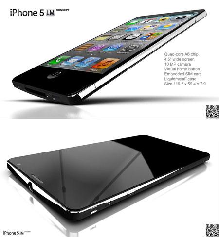 iPhone 5, caratteristiche processore quad-core A6
