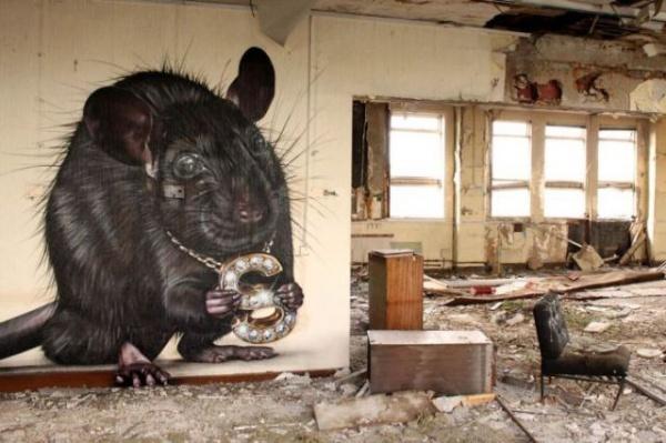 Street Art spettacolare