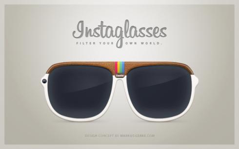 Instaglasses, un nuovo concept per Instagram