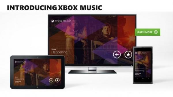 Xbox Music presentato da Microsoft al E3 2012