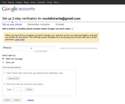 10 modi per rafforzare la sicurezza per Gmail