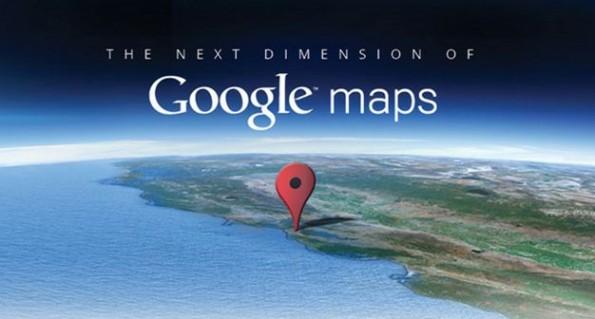 Google Maps: è arrivata oggi una nuova dimensione
