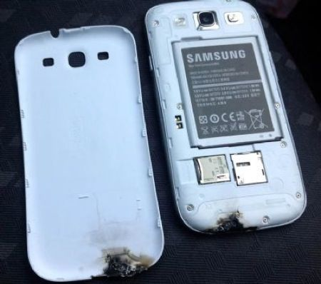 Samsung Galaxy S3 fa fuoco e fiamme, ecco i dettagli