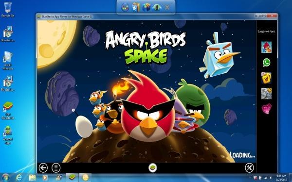 Emulatore android guida a Bluestacks con il play store sul PC