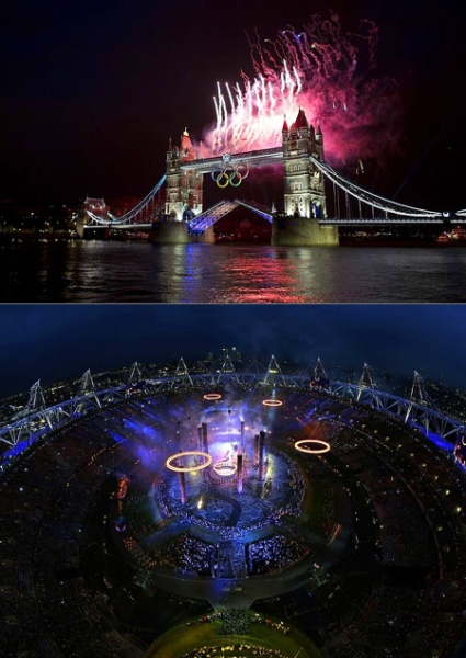 Cerimonia di apertura Olimpiadi di Londra 2012