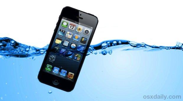 Cinque semplici passi per salvare un Iphone dall'acqua !