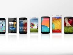 I MIGLIORI CINQUE SMARTPHONE DEL 2014!