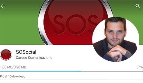 SOSocial: l'app che può salvarvi la vita!