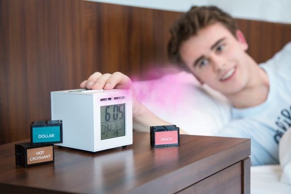 Sensor Wake: la sveglia che utilizza gli odori per farci alzare dal letto!
