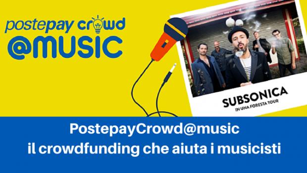 PostepayCrowd@Music: il giusto contest per chi ama la musica!